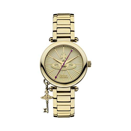 Vivienne Westwood Kensington II VV006KGD - Reloj para mujer