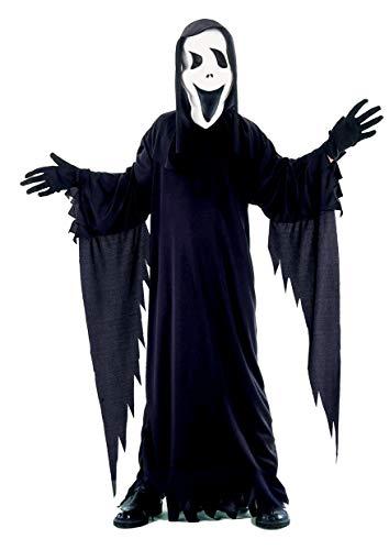 Ciao Disfraz Black Ghost talla M (5-7 años) Niños Unisex Negro 61019.M