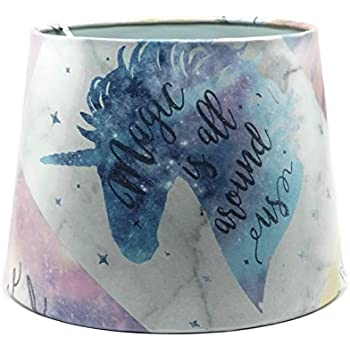 Unicorn Lampshade For A Ceiling Light Shade 12 Quot Drum