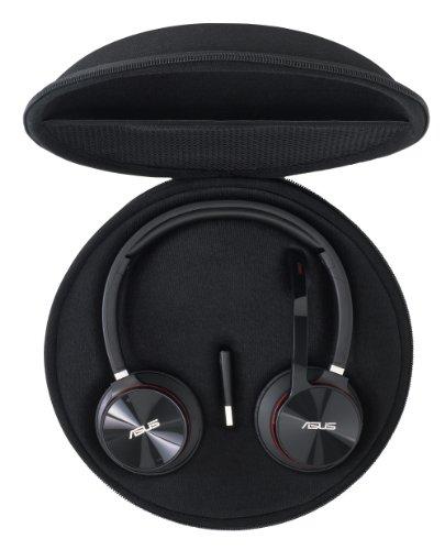 Asus HS-W1 Wireless Headset (Akku Laufzeit bis zu 8 Std, Plug'n'Play, inkl. Transporttasche) schwarz - 5