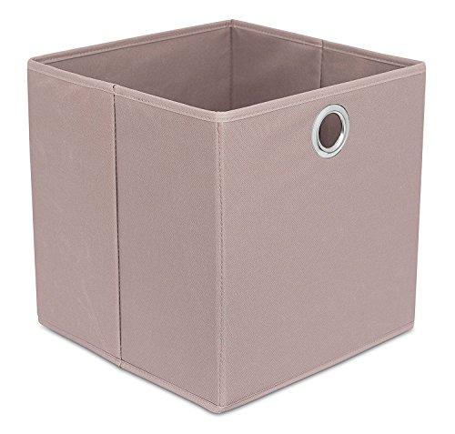 Birdrock Home Leinwand Lagerplatz | Langlebig Aufbewahrung Würfel Box Korb Behälter | Kleidung Kinderzimmer Toys Organizer | Licht Tote -