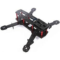 MODELTRONIC Combo Dron QAV 250 Mini Quadcopter con ATOM CC3D ARTF