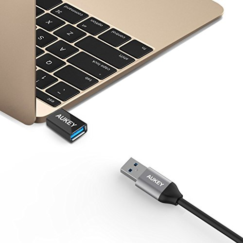 41WkSBo9itL - [Amazon.de] AUKEY USB-C auf USB 3.0 Adapter für nur 1,99€ als Plus Produkt