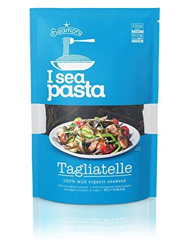 Seamore Bio I Sea Pasta Algen Nudeln -Tagliatelle-, 100g