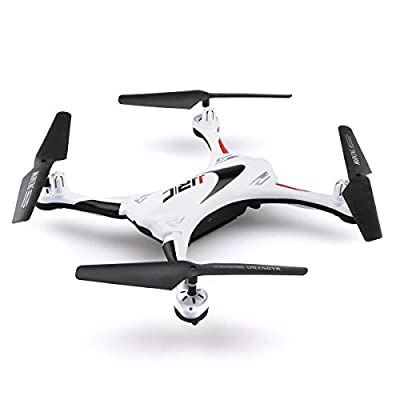 OKPOW New Generation Waterproof RC Quadcopter Drone 2.4G 4CH 6-Axis Gyroscope with Headless Mode One Key Return Remote Control Quadrotor with Night Light