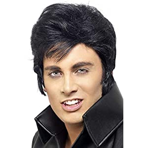 Smiffys Elvis Wig - Black