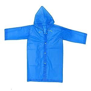 TOYANDONA Chubasquero Infantil Chubasquero EVA para niña niño niño (Azul) 4