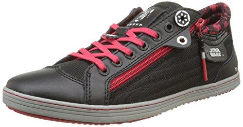 Kickers Vader M Low, Sneakers Basses homme, Noir, 44 EU