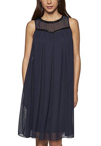 APART Fashion Kleid, Vestito Donna Blau (nachtblau 0)
