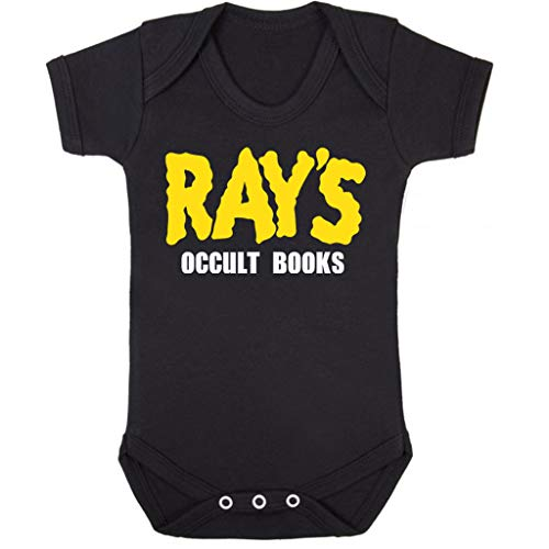 Cloud City 7 Rays Occult Books Ghostbusters Baby Grow Short Sleeve