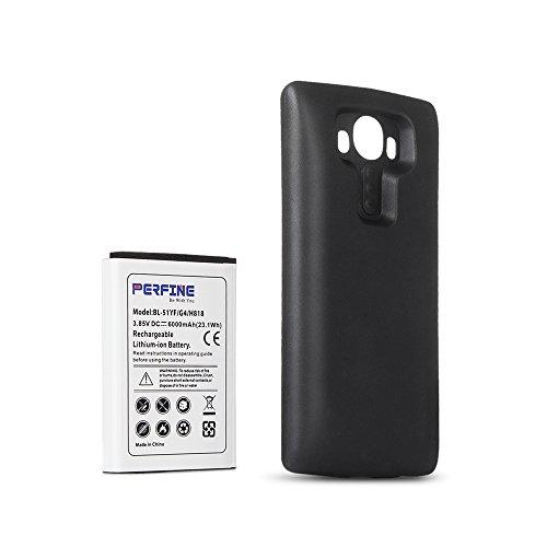 Perfine LG G4 Batería [6000mAh] Extendido LG G4 BL-51YF/H818