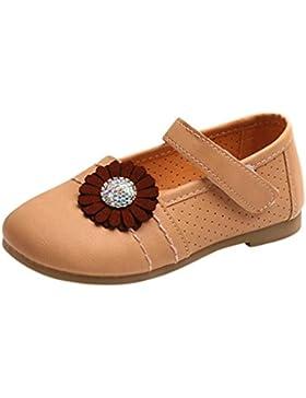 IGEMY Mädchen Mode Kleinkind Kinder Floral Ballerina Prinzessin Casual flache Schuhe