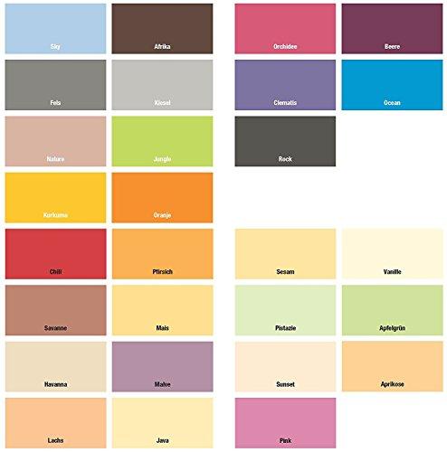Farbige Wände Innenwandfarbe Afrika, 2,5 Liter