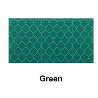 5m x 50mm Yuzet Green high Intensity Reflective Tape Diamond Micro Prismatic Engineering Grade EGP