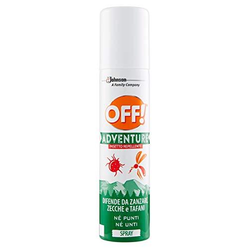 Off! Adventure - Insecto Repelente Spray - 2 paquetes de 100 ml