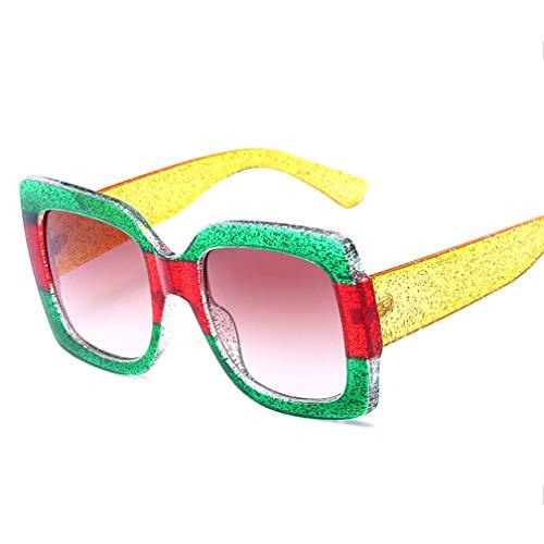 Polarisierte Sonnenbrille für Damen, Damen Classic Vintage für Autofahren/Urlaub/Reisen, 100% UV 400,B