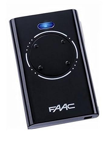 Télécommande FAAC XT4 433 SLH NOIR - FAAC
