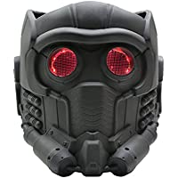 Xcoser Guardians Maske Cosplay mit Glow Brille Erwachsene Helm Kostüm Halloween Mask PVC Aktualisierte Version