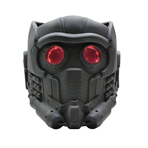 Guardians Maske Cosplay mit Glow Brille Erwachsene Helm Kostüm Halloween Mask PVC Aktualisierte ()