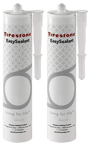 Firestone EasySealant EPDM - Adhesivo para estanque (1-12 unidades), Negro