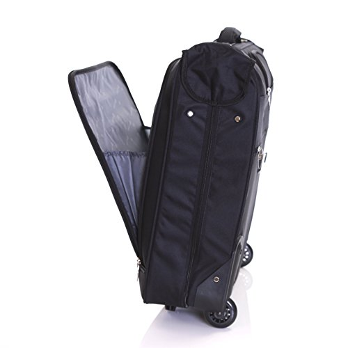 Karabar Stanley 3 Suit Wheeled Garment Carrier - Black