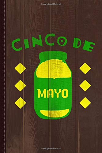 Cinco De Mayo Journal Notebook: Blank Lined Ruled For Writing 6x9 120 Pages por Flippin Sweet Books