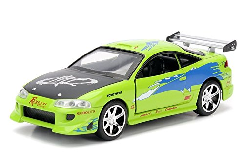 fast-furious-modelo-diecast-en-escala-132-mitsubishi-eclipse-verde-de-brian-ff-universal-picture-jad