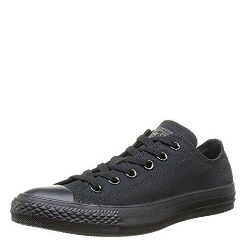 Converse Chuck Taylor All Star Core Mono Black Low top Sneakers M5039 (US Men's 4 / Women's 6) -