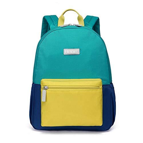 r-Rucksack, Kinder-Vorschul-Rucksack, wasserdicht, niedlich, Schultasche, Reisetasche, Wanderrucksack, für Kleine Jungen und Mädchen, 3-6 Jahre, Rot Lime ()