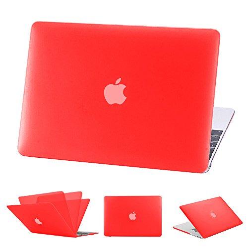 Luch MacBook Pro 13 Retina Hülle (NO CD-ROM Drive) - Ultradünne Matt Gummierte Plastik Hartschale Tasche Schutzhülle Snap Case Cover für Pro Retina 13