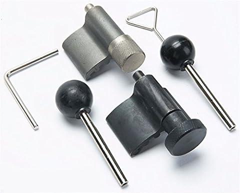 Spttools Kit d'outils de verrouillage à manivelle pour moteur diesel pour VW/Audi/T10050/T10100