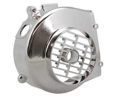 Naraku-Coperchio Ventola cromato per 139QMB, Kymco 4tempi (Rivestimento Di Raffreddamento Fan)