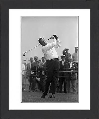 Framed Print of Golf - Carling World Golfing Championship - Practice Round - Billy Casper