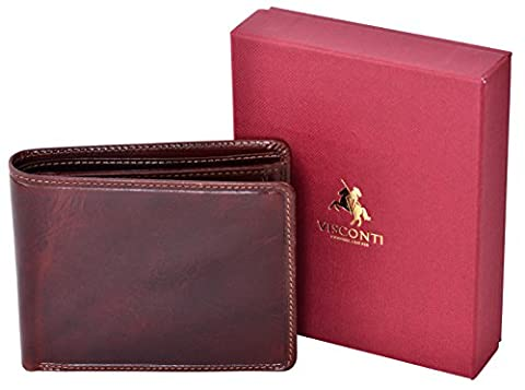 Visconti Trifold Cuir Homme Portefeuille