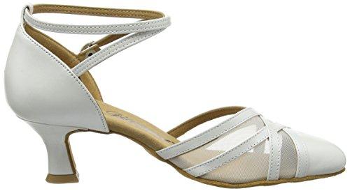 Diamant Diamant 147-068-391 Damen Tanzschuhe - Standard & Latein, Damen Tanzschuhe - Standard & Latein, Elfenbein (Perlato Weiß), 38 EU (5 Damen UK) - 6