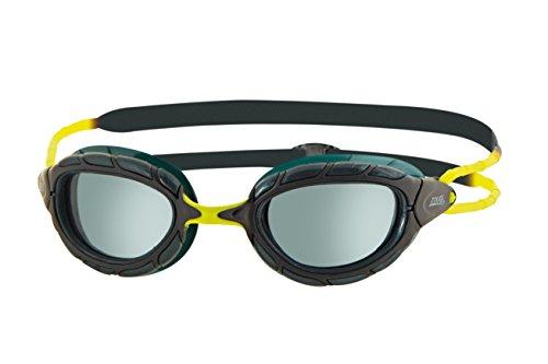 Zoggs Predator–Gafas de natación, todo el año, unisex, color negro, tamaño talla única