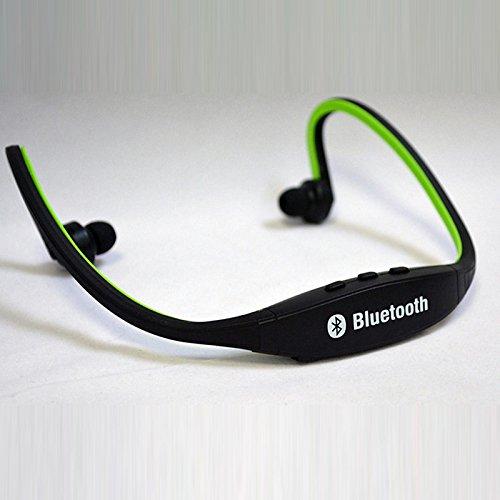 lemumu Bluetooth Headset Kopfhörer Ohrhörer/Headset, Laufen/Fitness, schweißfest, für iPhone/Apple iPhone/Android-Smartphones lichtgrün