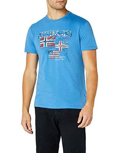 en T-Shirt, Türkis (Light Blue Bc2), X-Large ()