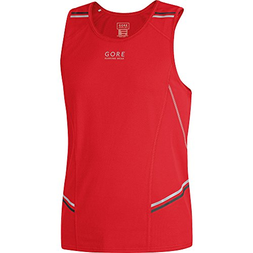 Gore Running Wear Mythos 6.0 Canotta, Rosso, M