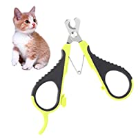 Auxsoul 1 Pack Cat Nail Clippers, Professional Pet Nail Clippers & Claw Trimmer for Home Grooming Kit, Best Cat Claw Clippers for Rabbit Puppy Kitten Kitty Pig Small Dog