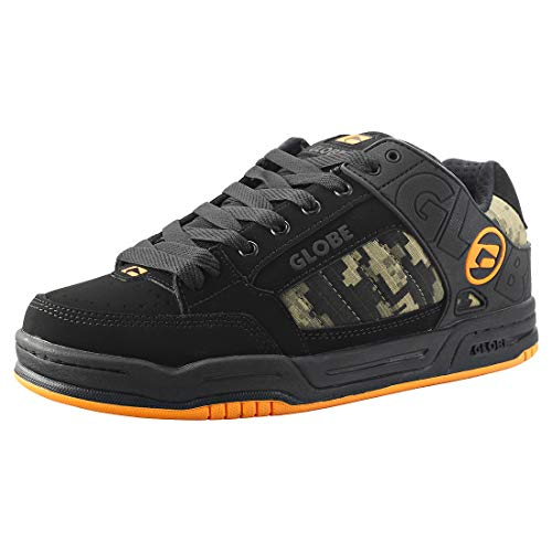 finest selection aac4c 29f2a GLOBE Tilt, Zapatillas de Skateboard para Hombre, Negro (Black Camo Orange
