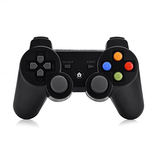 Richer-R Bluetooth Game Controller, Drahtloser 2.4G Ergonomisch Gamepad Joystick,Kabellos Gaming Controller Gamepad für Android Tablets Smartphones TV Boxen Play Station 3 usw. (Hisense Tablets)