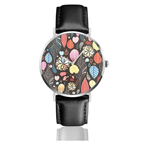 Damen-Armbanduhr, für Herren, lässiges Design, nahtlos, Herbstkollektion