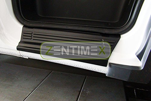 ZentimeX Interiormate Z967030 Einstiegsleisten fahrzeugspezifisch Kunststoff schwarz 3D-Oberfläche 2tlg