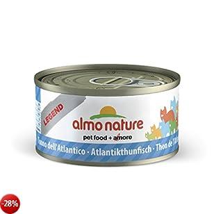Legend Tonno dell'Atlantico - umido gatto 100% naturale - Megapack 6x70g lattina