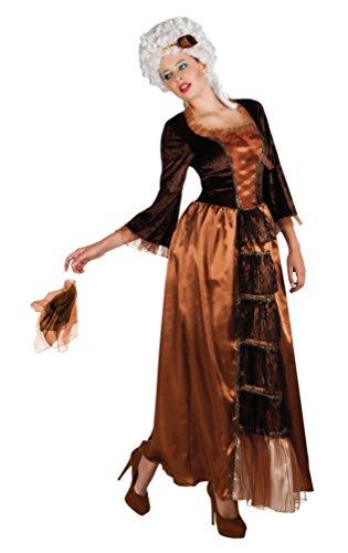Karneval-Klamotten Viktorianisches Damen-Kostüm braun schwarz Barock Kostüm Damen Renaissance...