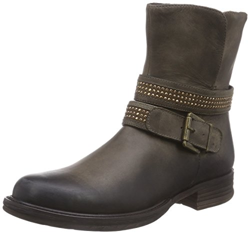 Spm Bovet Ankle Boot, Bottes de motard courtes, doublure froide femme Marron - Braun (Taupe 008/Taupe 006)