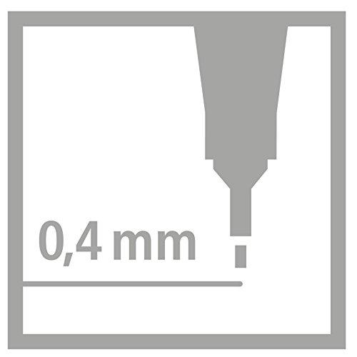 STABILO point 88 Penna Fineliner colori assortiti - Rollerset da 30 - 7