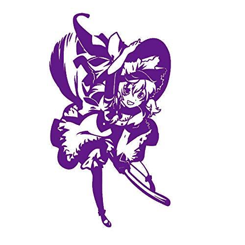 guijiumai Pegatina Touhou Projekt Aufkleber Anime Cartoon Auto Aufkleber Aufkleber Vinyl Wandaufkleber Dekor Dekoration 5 79x140 cm