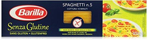 Barilla Pasta Spaghetti n. 5 glutenfrei aus Reis und Mais – 1er Pack (1x400g)